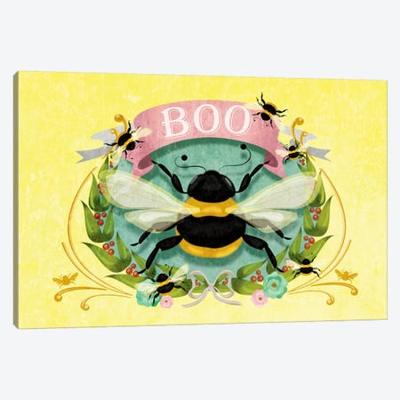 Boobee Canvas Print #KSD3} by Kitschy Delish Canvas Print