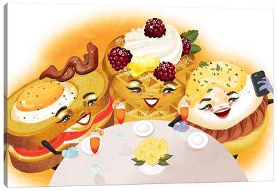 Breakfast Club Canvas Art Print