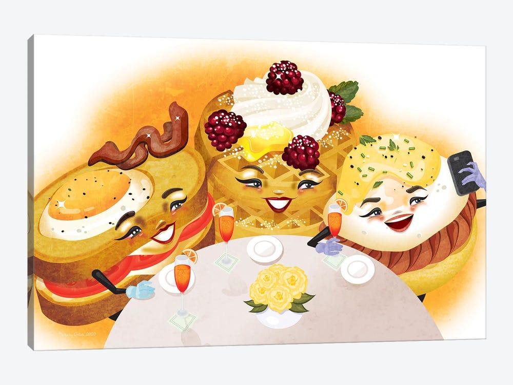 Breakfast Club by Kitschy Delish 1-piece Canvas Print