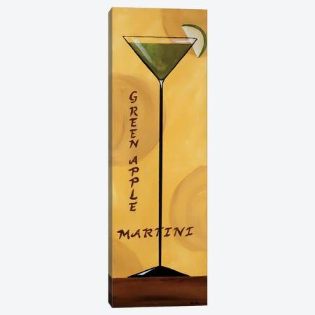 Apple Martini Canvas Print #KSE1} by Krista Sewell Canvas Artwork