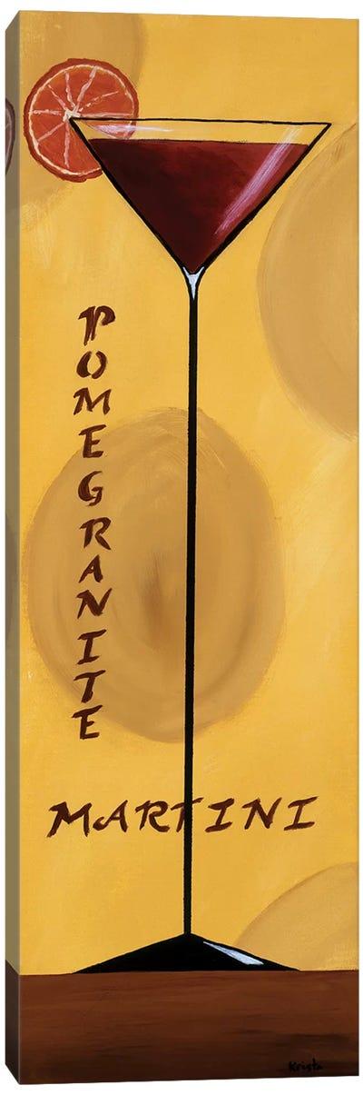 Pomegranate Martini Canvas Art Print