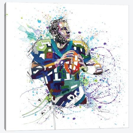 Carson Wentz Canvas Print #KSK12} by Katia Skye Canvas Print