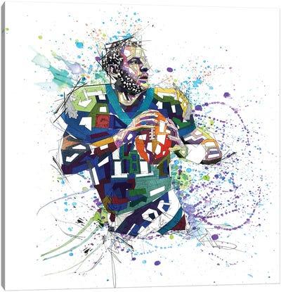 Carson Wentz Canvas Art Print