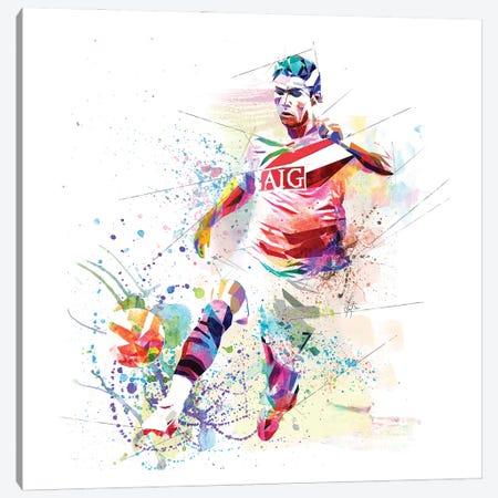 Cristiano Ronaldo Canvas Print #KSK14} by Katia Skye Canvas Wall Art