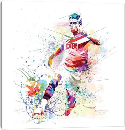 Cristiano Ronaldo Canvas Art Print