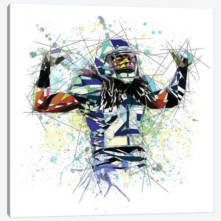 Richard Sherman Canvas Print #KSK15} by Katia Skye Canvas Art