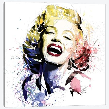 Marilyn Monroe Canvas Print #KSK17} by Katia Skye Canvas Wall Art