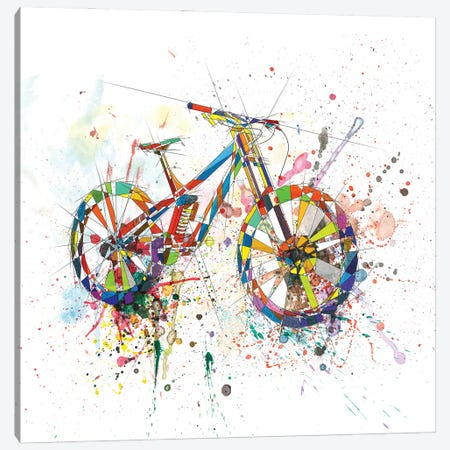 Bicycle Canvas Print #KSK18} by Katia Skye Canvas Art Print