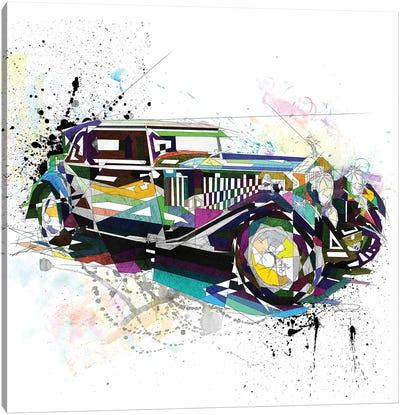Rolls Royce Canvas Art Print
