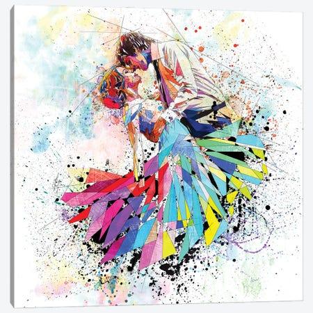 Happily Married Canvas Print #KSK23} by Katia Skye Canvas Art