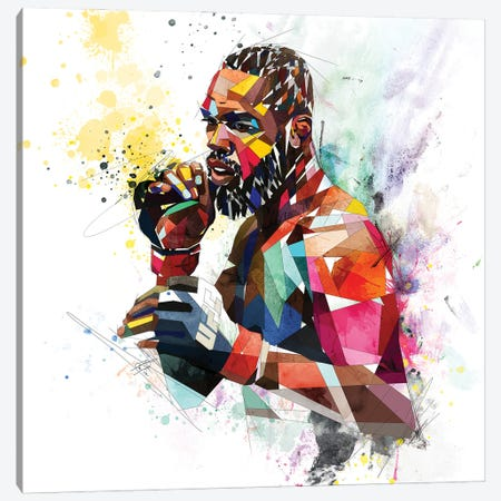 Jon Jones Canvas Print #KSK25} by Katia Skye Art Print