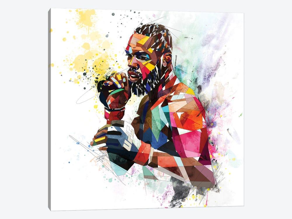 Jon Jones by Katia Skye 1-piece Canvas Wall Art