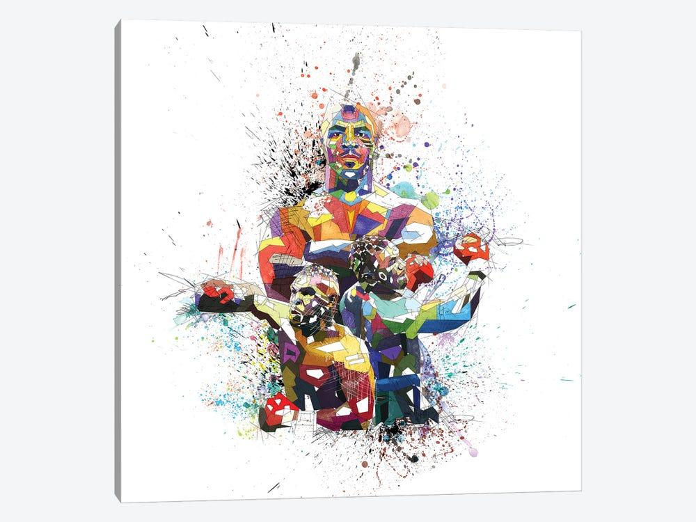 Mike Tyson by Katia Skye 1-piece Canvas Artwork