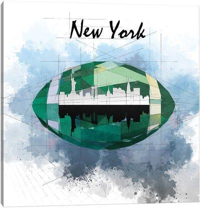 Football New York Jets Canvas Art Print