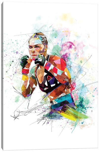 Ronda Rousey Canvas Art Print