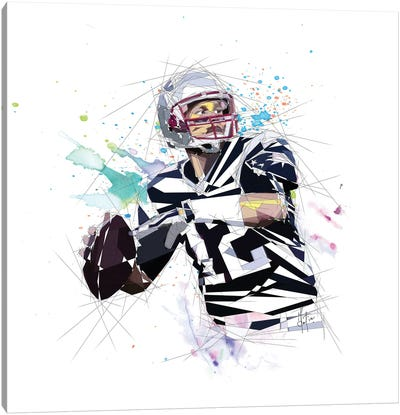 Tom Brady Canvas Art Print