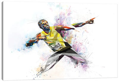 Usain Bolt Canvas Art Print