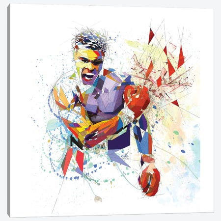 Muhammad Ali Canvas Print #KSK3} by Katia Skye Canvas Artwork