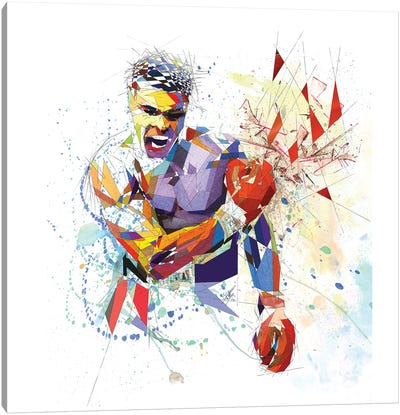 Muhammad Ali Canvas Art Print