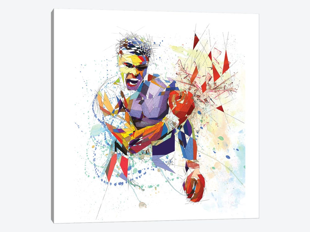 Muhammad Ali by Katia Skye 1-piece Canvas Print