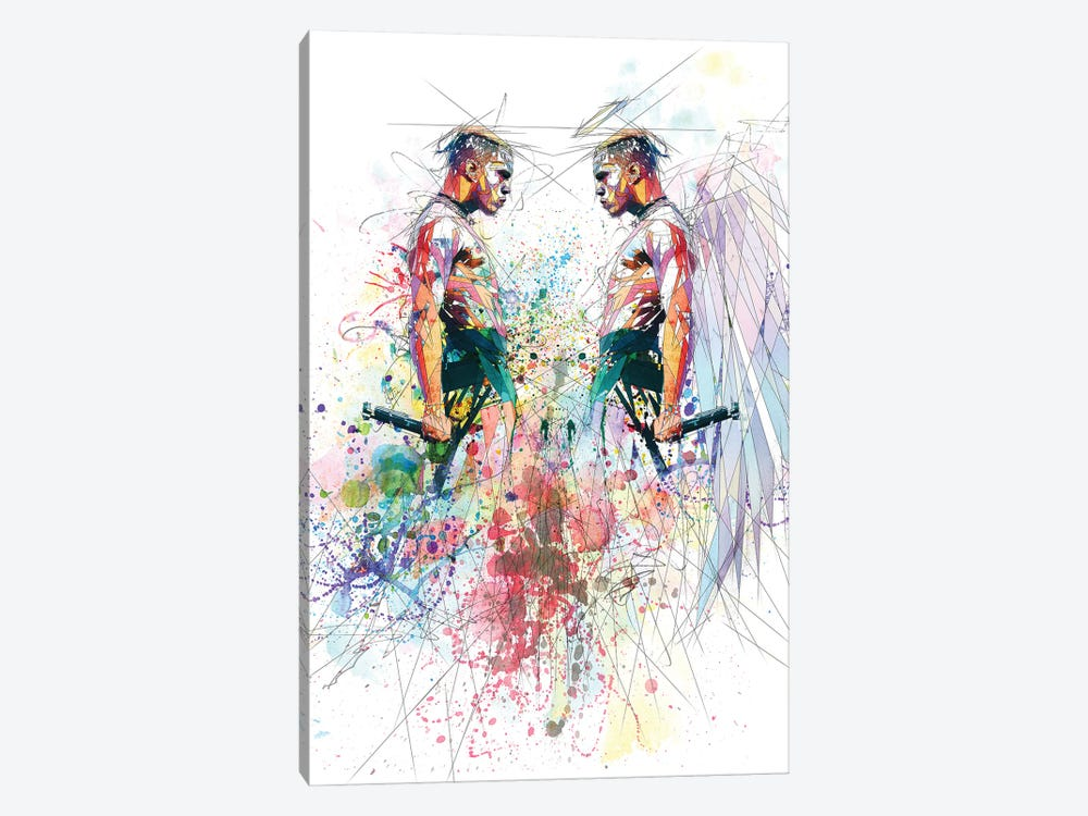 Xxxtentacion by Katia Skye 1-piece Canvas Art Print
