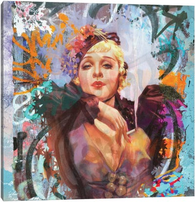 Sultry Canvas Art Print