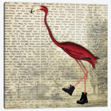 Birdshoes II Canvas Print #KSM31} by Karen Smith Canvas Print
