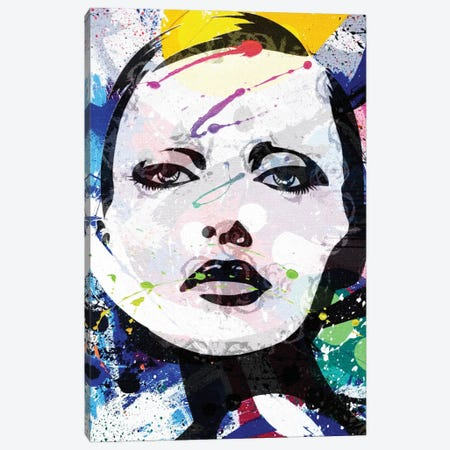 Headpaint I Canvas Print #KSM36} by Karen Smith Canvas Art