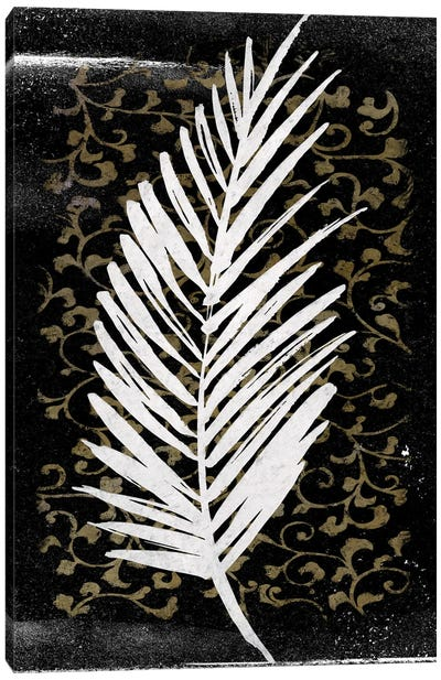 Dark Tropical I Canvas Art Print