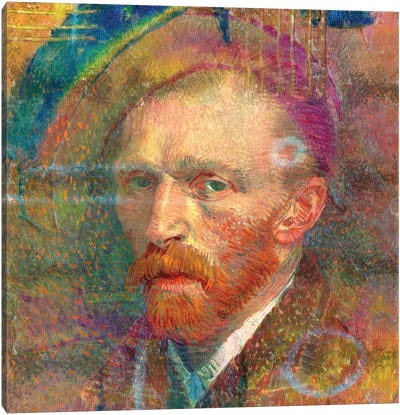 Van The Man II Canvas Art Print