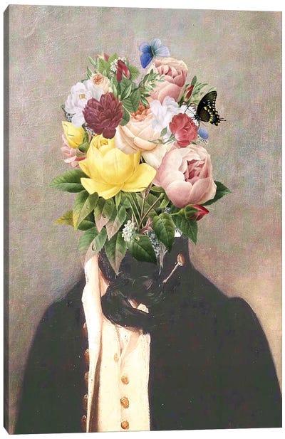 Vintage Head I Canvas Art Print