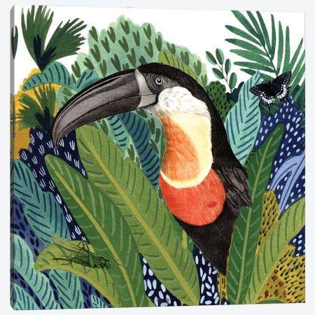 Wild Jungle II Canvas Print #KSM82} by Karen Smith Canvas Artwork