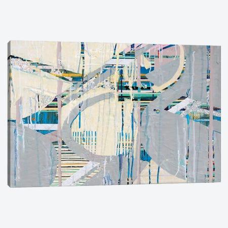 Urban Grid V Canvas Print #KSO10} by Kari Souders Canvas Art Print