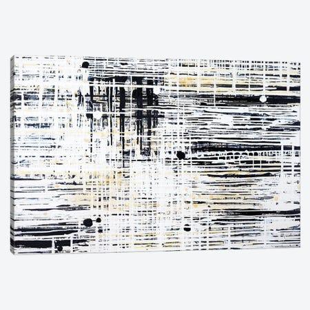 Woven Grid VI Canvas Print #KSO13} by Kari Souders Canvas Art Print
