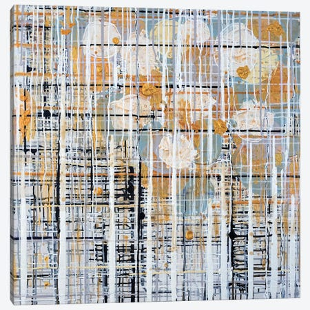 Urban Grid X Canvas Print #KSO14} by Kari Souders Canvas Art