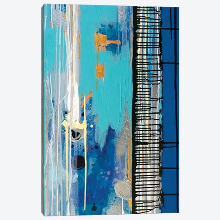 Left Side Of Diptych Urban Grid V Canvas Print #KSO16} by Kari Souders Canvas Wall Art