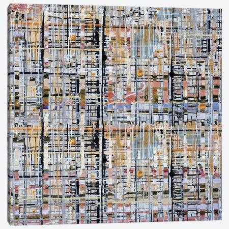 Urban Grid XII Canvas Print #KSO21} by Kari Souders Canvas Wall Art