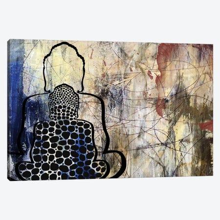 Budda Dreams Canvas Print #KSO30} by Kari Souders Canvas Art Print