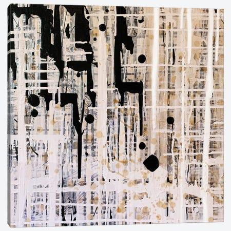 Black Pearl Canvas Print #KSO38} by Kari Souders Art Print