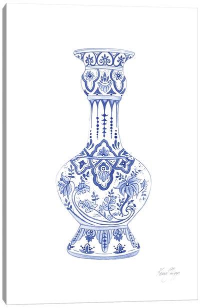 Chinoiserie Ming Vase Canvas Art Print
