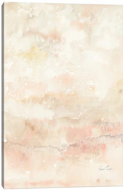 Dusk Ii In Blush Canvas Art Print