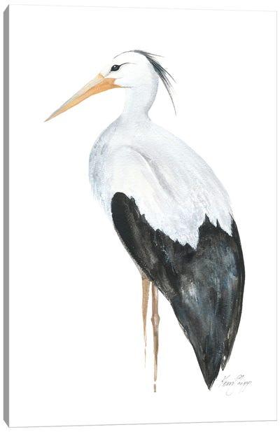 Egret Canvas Art Print