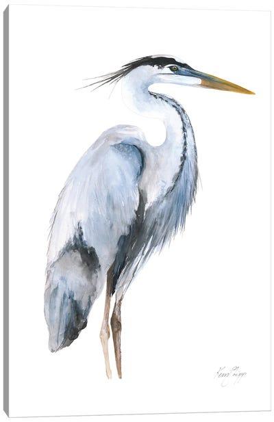 Heron Canvas Art Print