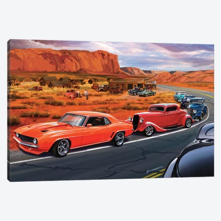 Ghost Town Canvas Print #KSR10} by Bruce Kaiser Canvas Artwork