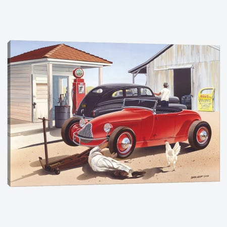 Jim Hogg County Canvas Print #KSR14} by Bruce Kaiser Canvas Art Print