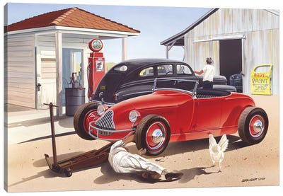 Jim Hogg County Canvas Art Print
