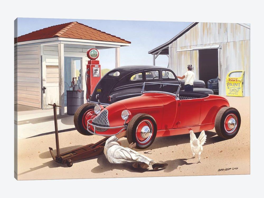 Jim Hogg County by Bruce Kaiser 1-piece Canvas Print