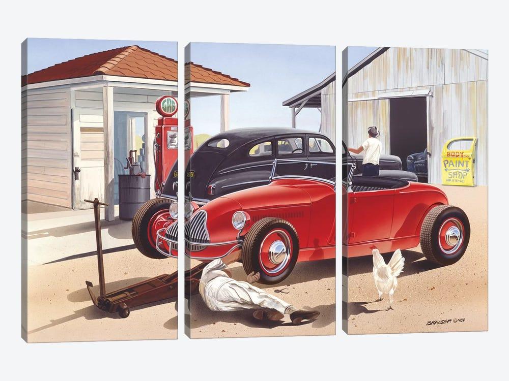 Jim Hogg County by Bruce Kaiser 3-piece Art Print