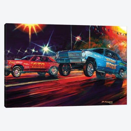 Lift Off Canvas Print #KSR16} by Bruce Kaiser Art Print
