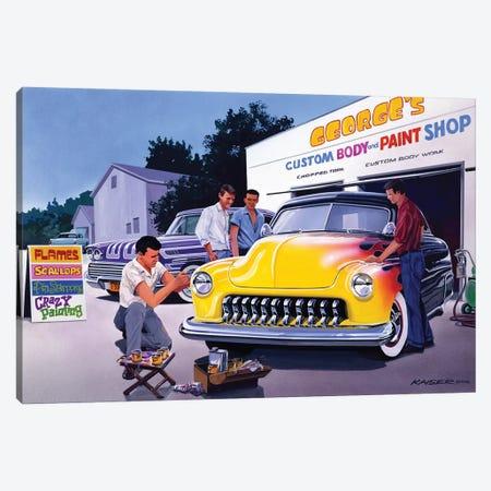 Paint Shop Canvas Print #KSR20} by Bruce Kaiser Art Print